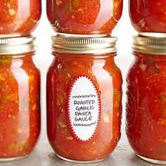 Roasted Garlic Pasta Sauce Recipe (Includes Optional Canning Instructions)