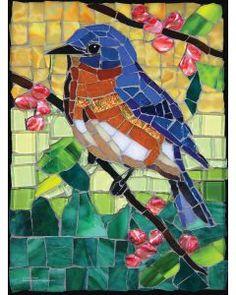 Mosaic Garden Art, Mosaic Tile Art, Mosaic Artwork, Canvas Artwork, Mosaic Animals, Mosaic Birds, Mosaic Flowers, Butterfly Mosaic, Mosaic Art Projects
