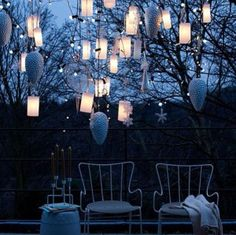 Romantic lights Garden Party!
