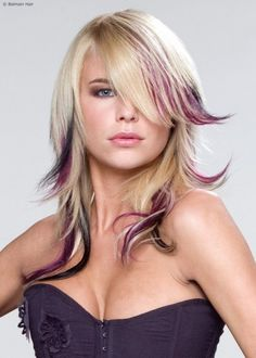Purple Dip Dye