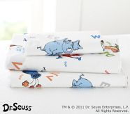 Dr Suess children's bedding at Pottery Barn kids