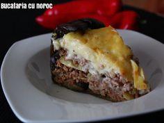 Tort musaca - Bucataria cu noroc Noroc, Sandwiches, Beef, Meat, Paninis, Steak
