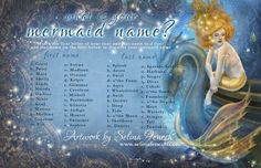 What's Your Mermaid Name?