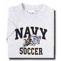 Naval Academy Youth NAVY Soccer T-Shirt