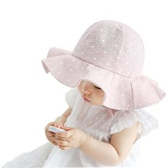 Clearance IEason Toddler Infant Kids Sun Cap Summer Outdoor Baby Girls Boys  Sun Beach Cotton Hat ea0575ff144b