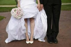 Bride groom  and shoes!