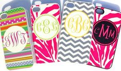 Monogrammed Iphone cases $28