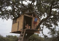 my favourite - a real homemade play/treehouse