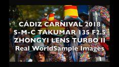 Cádiz Carnival 2018 S-M-C Takumar 135 F2.5 + Zhongyi Lens Turbo II Real ... Cadiz, 4k Hd, Broadway Shows, Carnival, Lens, World, Image, Style, Swag