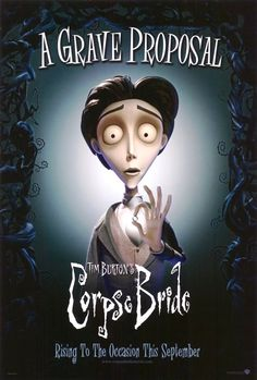 """""""A Corpse Bride"""" by Tim Burton, only one of his many great stop motion films. Art Tim Burton, Film Tim Burton, Tim Burton Characters, Tim Burton Style, Burton Burton, Corpse Bride Movie, Tim Burton Corpse Bride, Beetlejuice, Stop Motion"""
