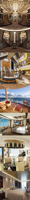 Travel luxury style on the regent luxury seven seas cruise ship