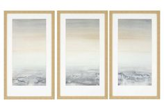 "Sable Island Triptych One Kings Lane  32"" x 18"" (each, set of 3) $199.00"