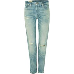 Polo Ralph Lauren Sulivan straight leg jeans ($180) ❤ liked on Polyvore featuring jeans, denim, women, polo ralph lauren jeans, polo ralph lauren, straight leg jeans, light wash jeans and mid-rise jeans
