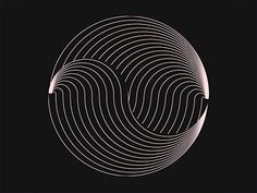 Circles lines and stuff by OELHAN on Dribbble Cool Optical Illusions, Art Optical, Fractal Art, Fractals, Anim Gif, Optical Illusion Gif, Eye Tricks, Stoner Art, Mandala