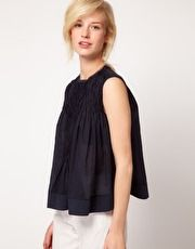 See by Chloe Cotton Swing Top