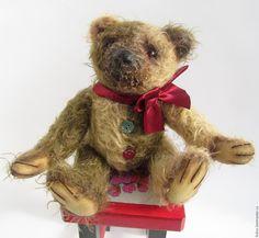 Купить Мишка тедди Артист (18 см) - мишка, мишка тедди, мишка ручной работы