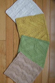 #2 Really Reversible Dishcloths Set of 4