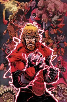 CHARLES SOULE Talks RED LANTERNS WAR, FUTURES END | Newsarama.com