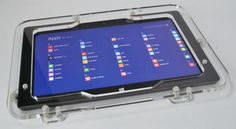 MS Surface RT Pro 2 Anti-theft Acrylic VESA Kit for POS, Store Kiosk Show Displa #Microsoft Surface Rt, Vesa Mount, Kiosk, Microsoft, Ms, Store, Larger, Shop