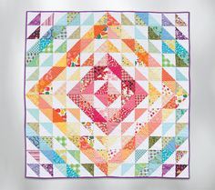 There are a surprising number of quilt blocks that you can cut, sew, and press in less than 10 minutes. It's true! Click through to see 11 easy blocks that we time-tested ourselves.