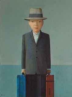 Liu Ye  Coming, 2008  acrylic on canvas