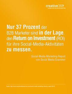 #SocialMediaMarketing #ROI #Erfolgskontrolle #B2B