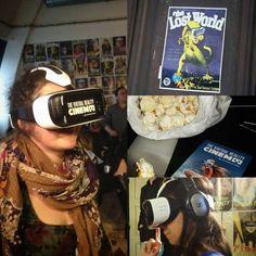 Heute hat das erste Virtual Reality Kino in Berlin eröffnet und ich bin absolut begeistert von dieser faszinierenden Technik. Ich bin durch die Luft geflogen und habe mich dabei instinktiv am Stuhl festgehalten um nicht herunterzufallen   #Berlin #kino #cinema #virtualreality #innovation #movie #film by funkelfaden - Shop VR at VirtualRealityDen.com
