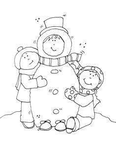 Free Dearie Dolls Digi Stamps: That's What Winter Friends Are For....