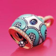 maiolica la nuova espressione mediterranea della campanella chantecler #diamanti #ghidinigioielli #jewels #lovelife #capri #chantecler www.ghidinigioielli.com