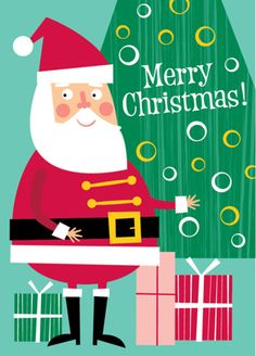 Xmas Cards by Ed Miller Design, via Behance