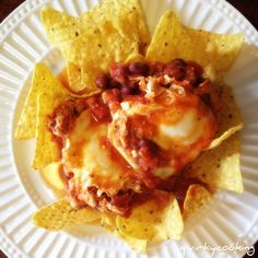 Vegetarian Nacho Topping with Kidney Beans