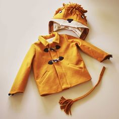 Luxe Lion Coat by Little Goodall on PRESERVE #kids #costume