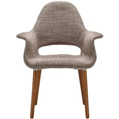 Barclay Organic Style Taupe Dining Arm Chair - Overstock™ Shopping - Great Deals on Dining Chairs
