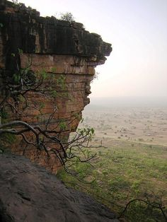 The caves of Moba, Togo