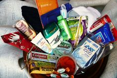 Good list of items that can be placed in blessing bags.