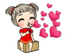 Cute Bunny Cartoon, Cute Love Images, Emoji Images, Cute Cartoon Pictures, Cute Love Gif, Cute Love Cartoons, Gif Pictures, Cute Pictures, Animated Emoticons