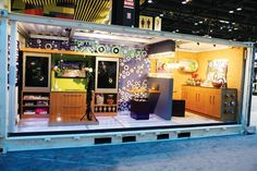 Designed by Visbeen Associates (312.810.5669, visbeen.biz) and inspired by consumer lifestyle trend research, the UNcontained exhibit at the 2012 Kitchen...