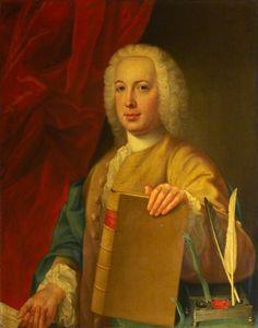 Portrait of James Stuart, Lord Provost of Edinburgh (1764–1766 & 1768–1770) by William Mosman (Scottish c.1700–1771)