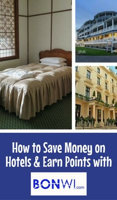 Traveling on a budget? Save money on hotel bookings and even earn flexible loyalty points with Bonwi.com - how it works! #BonwiRewards