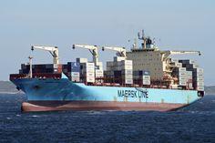 117 Maersk Cairo, arr. C.T., 5.12.13