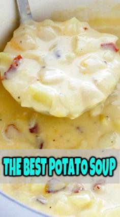 THE BEST POTATO SOUP #potatoes #soup