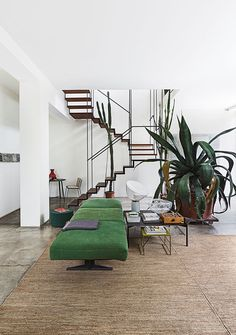 Get the vibe: an artist's home.