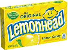 Lemonhead Hard Candy Lemon 5 Ounce Theatre Box >>> Find out more about the great product at the image link.