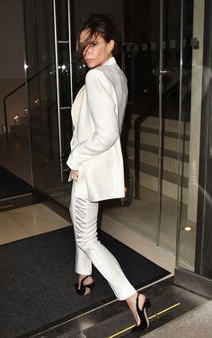 I love Victoria Beckham — thebeckhamsx:   David and Victoria Beckham leaving...