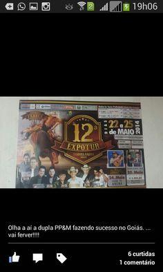 Dia 24 de maio em Turvelandia-GO tem meu jeito de amar com Pedro Paulo e Matheus www.ppem.com.br
