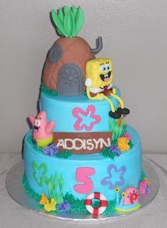 Pamelas Creative Cakes / Spongebob Birthday Cake