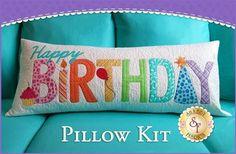 Happy Birthday Pillow - Laser-Cut Kit