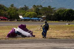 Ilopango Airshow  Paracaidismo