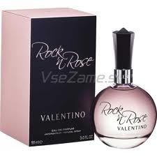 Rock'n Rose (Valentino): Floral sensual, com notas de bergamota, crunch verde, groselha, muguet, rosa, flor de laranjeira, gardênia, lírio, baunilha, sândalo e heliotrópio. Pode usar que é sucesso garantido. Perfume Rose, Perfume And Cologne, Perfume Bottles, Valentino Parfum, Givenchy, Fragrance Online, Fragrance Parfum, Yves Rocher, Maybelline