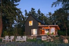 Fascinating waterfront retreat on picturesque Orcas Island
